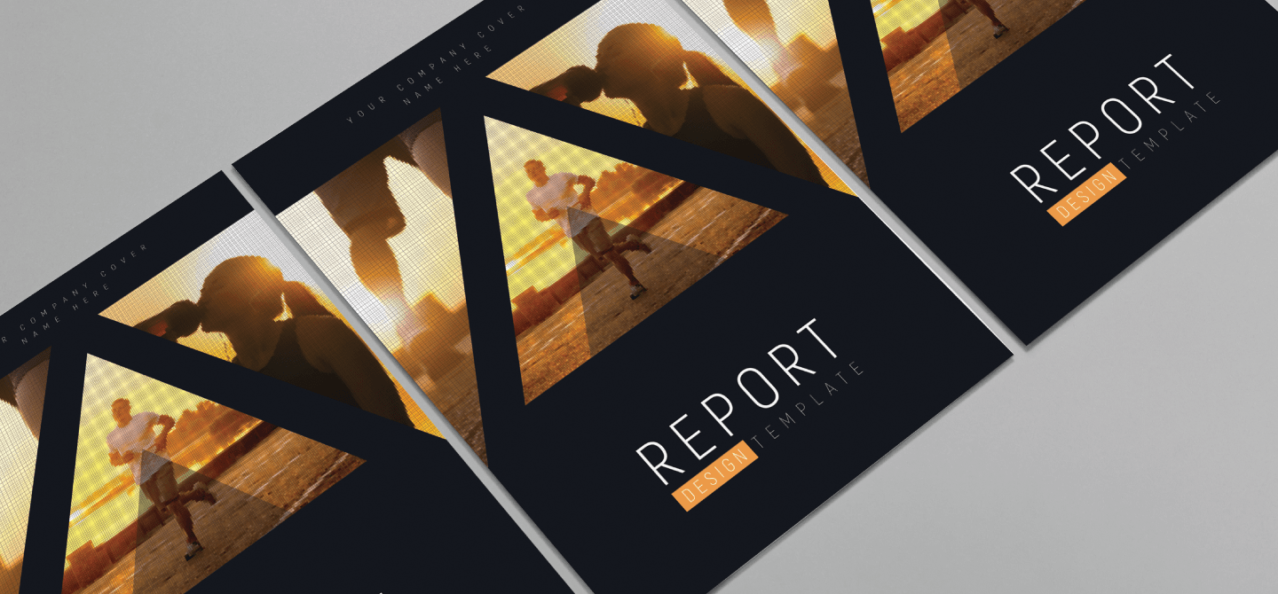 promo posters for company reports