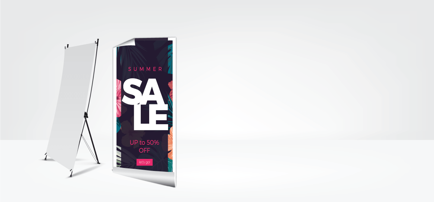 sale x banner replacement sign