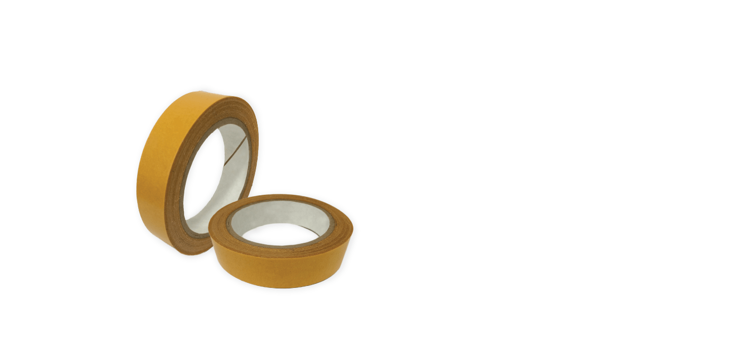 two rolls of banner tape