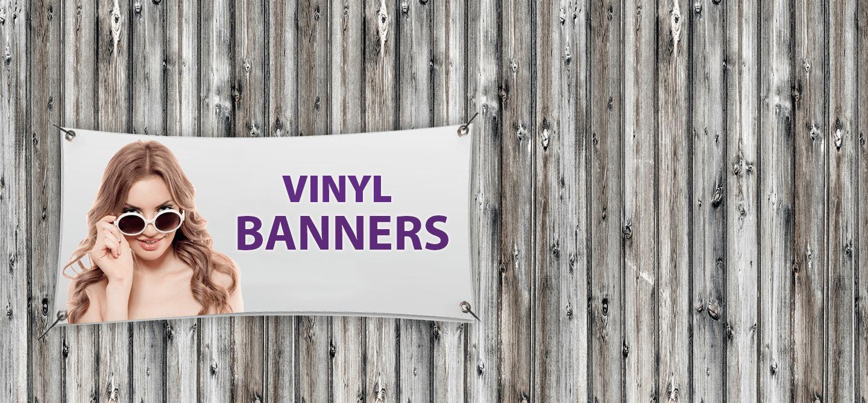 Custom printed vinyl banners, 13oz retail banners