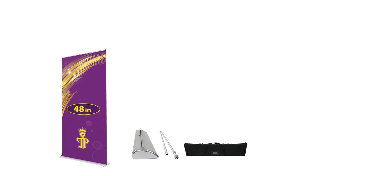 48 inch Premium Retractable Banner