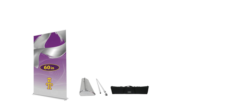 60 inch Premium Retractable Banner