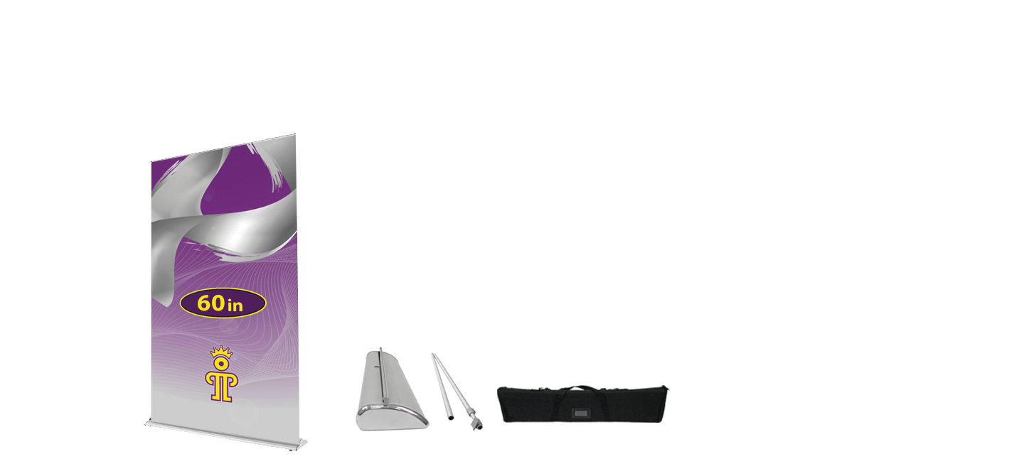 60 inch Fabric Retractable Banner