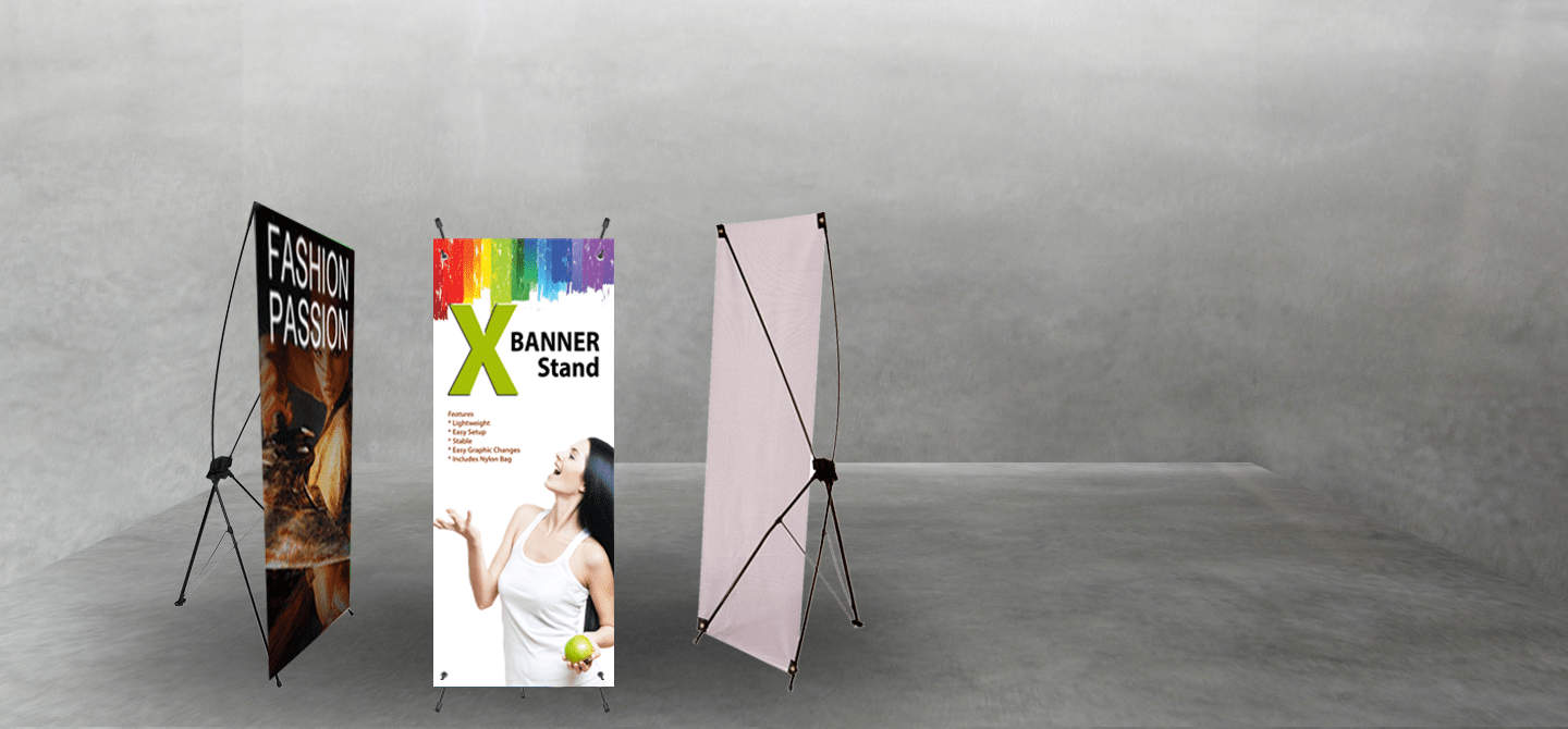Fabric X-Banners and X-Banner Stands