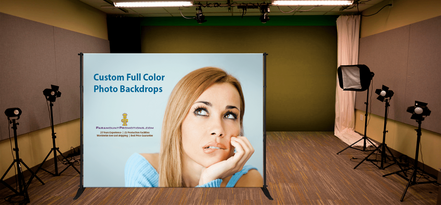 backdrop banners, step and repeat banners, and press conference banners