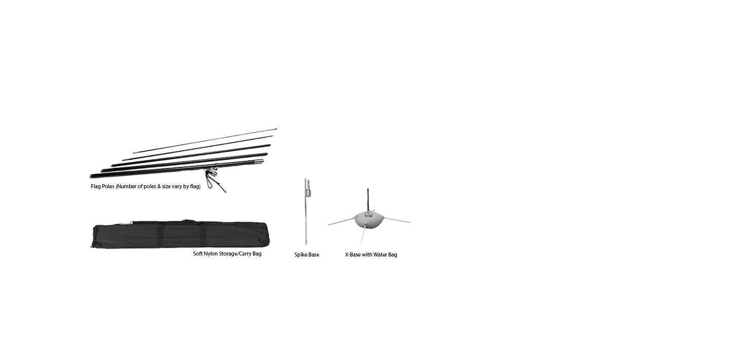 Feather Flag & Blade Flag Stand Hardware