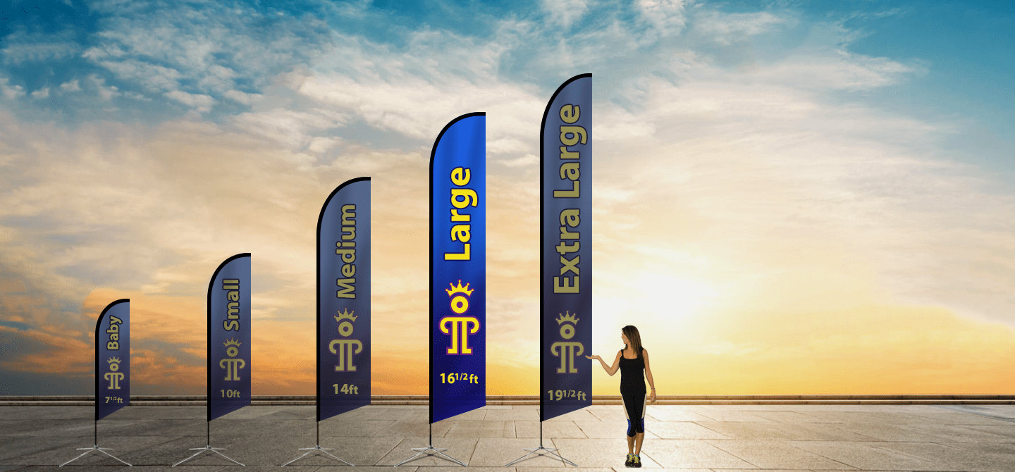 Advertising Flags | Large Blade Flag