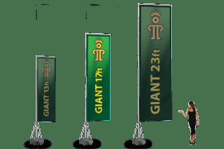 17 foot Giant Banner Flag