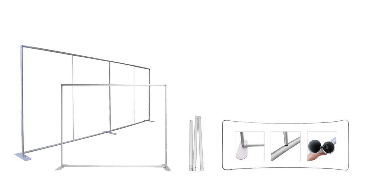 EZ Tube Display Frame | Pillowcase Frame