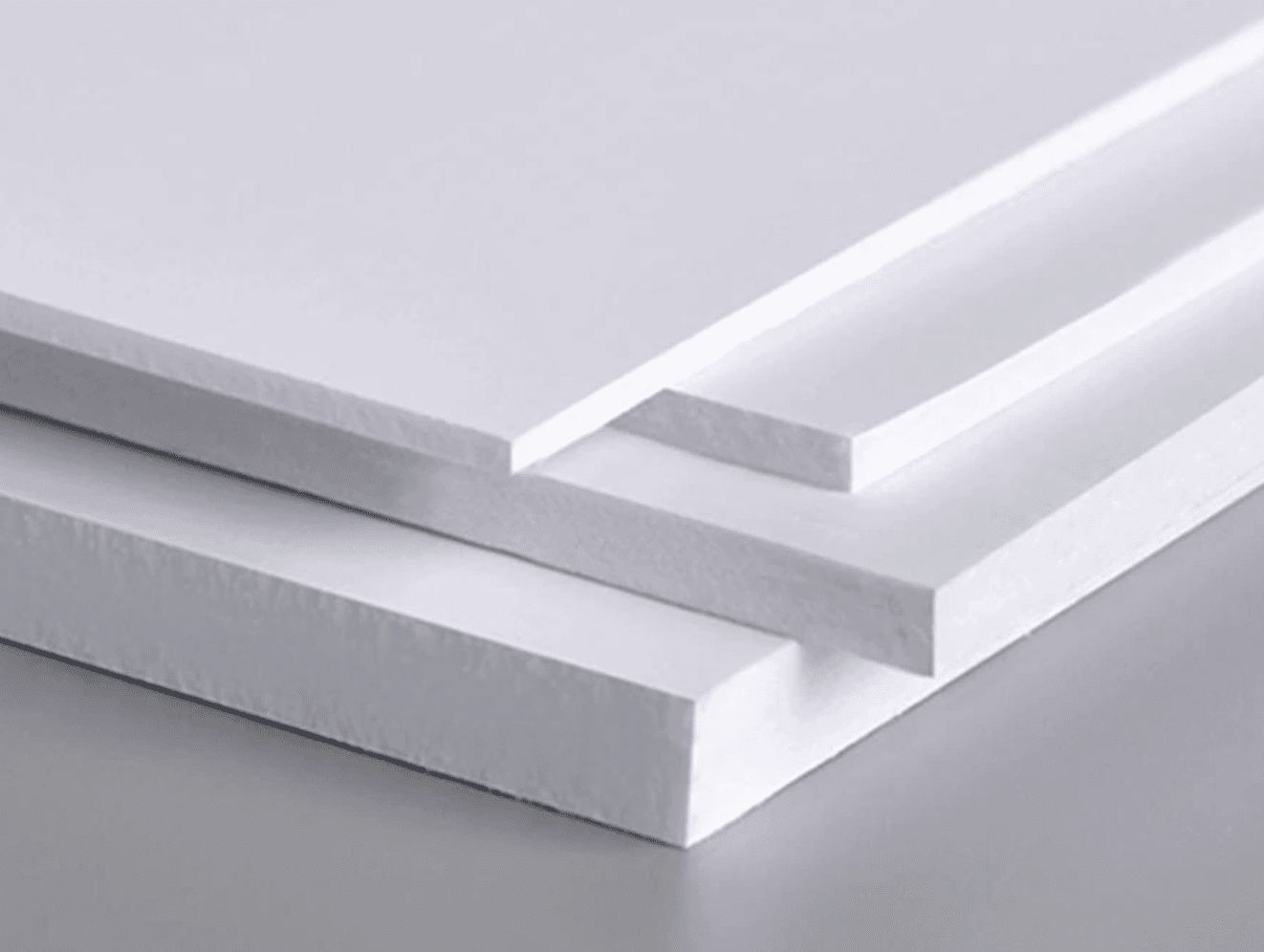 Different thickness PVC boards